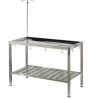 Stainless animal operating table (fixed)