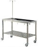 Stainless animal operating table (with wheel type)