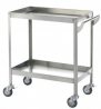 Stainless steel floor angle trolleys